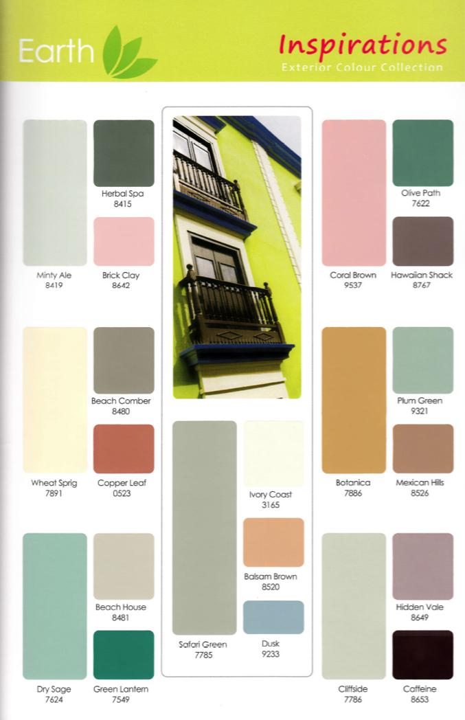 Flat Screen Repair >> BERGER INSPIRATIONS – EXTERIOR COLOUR COLLECTION – Paint Plus